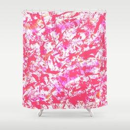 GRAFFITI PINK Shower Curtain