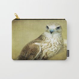 The Saker Falcon Stare Carry-All Pouch
