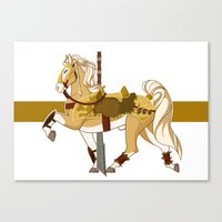fili Canvas Prints featuring Fili by MarieJacquelyn