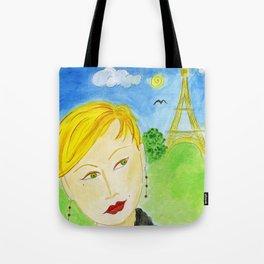 Paris Princess Tote Bag