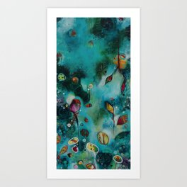 """""""The Garden"""" Original Painting by Emily Mitchell Art Print"""