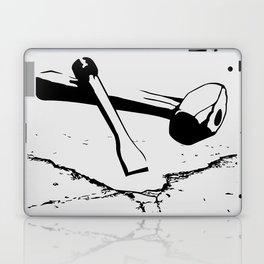 Chipping away Laptop & iPad Skin