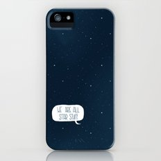 Star Stuff (Science Fiction Wrapping Paper No. 2) iPhone (5, 5s) Slim Case