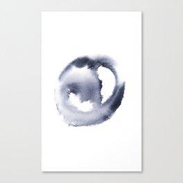 150527 Watercolour Shadows Abstract 81 Canvas Print