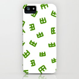 bb iPhone Case
