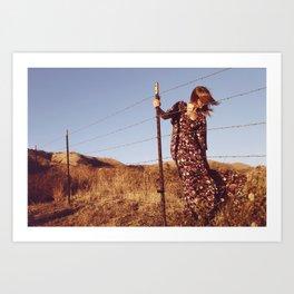 Change in the wind. Art Print