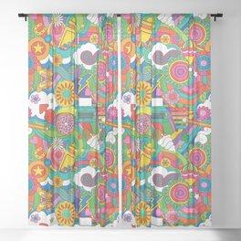 Sugar High Sheer Curtain