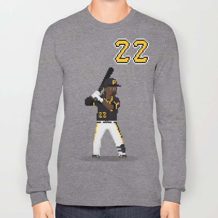 Major League Pixels - 8bit Cutch Long Sleeve T-shirt
