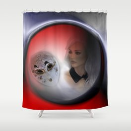 fashiondoll's day -21- Shower Curtain
