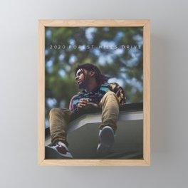 "2020 Forest Hills Drive ""The Fall Off"" Framed Mini Art Print"