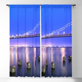 World Famous Oakland Bay Bridge San Francisco City California USA North America Ultra HD Blackout Curtain