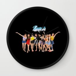 Twice dance the night away Wall Clock