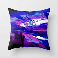 who was dragged down by the stone? Throw Pillow