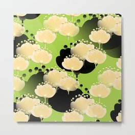 Abstract floral thoughts Metal Print