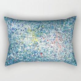Blue / Azul Rectangular Pillow