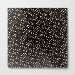 Art Deco Willow Metal Print