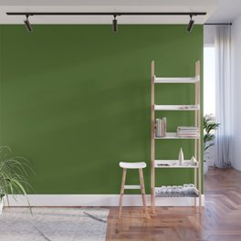 Floral Refreshment ~ Real Green Wall Mural