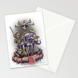 Cage Match Stationery Cards