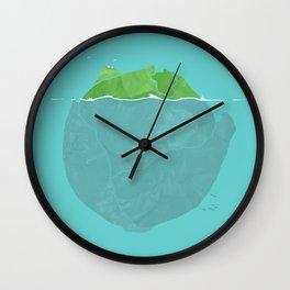 Lettuce Iceberg Wall Clock
