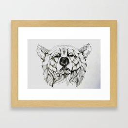 Spirit Animal Love Framed Art Print