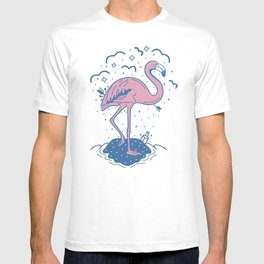 Tropical Paradise Flamingo T-shirt