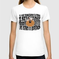 misfits T-shirts featuring Last Bagel Caress by Chris Piascik