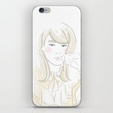 Françoise Hardy iPhone & iPod Skin