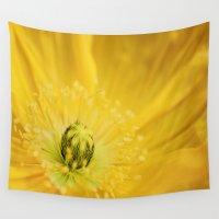 sunshine Wall Tapestries featuring Sunshine by Kathy Dewar