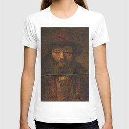 Rembrandt - Head of a Bearded Man T-shirt