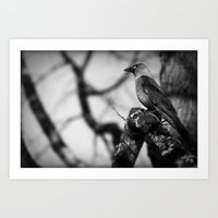 There you are! Art Print