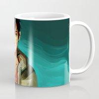 viria Mugs featuring the son of neptune by viria