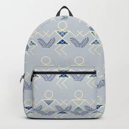 Blues Warli Print Backpack