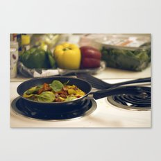 omelet Canvas Print