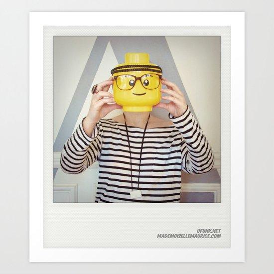 Minifig me ! – Everyone has a LEGO piece inside - 3 Art Print