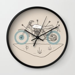 hunt Wall Clock