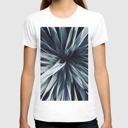 Perspective Facets-Retro Blue T-shirt