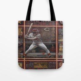 Pete Rose Tote Bag