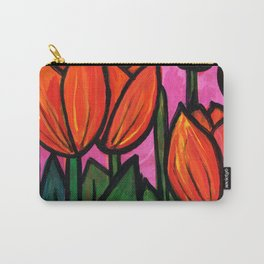 Tulips at Sunset Carry-All Pouch