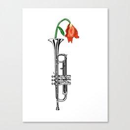 Trumpeting Beauty Canvas Print