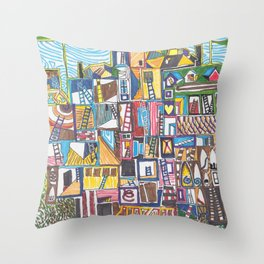 Chapman's House of Dreams 1 Throw Pillow