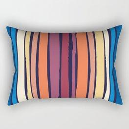 Bright Joker Dancing Stripes Pattern Rectangular Pillow
