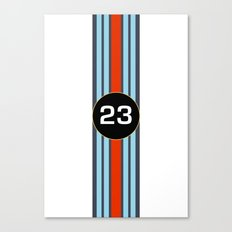 RACING COLOURS Canvas Print