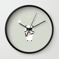 The Happy Ice Cream Wall Clock