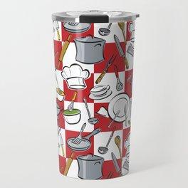 Kitchen Tools Check Travel Mug