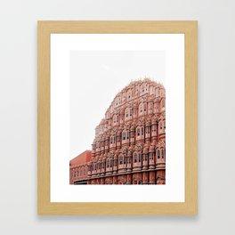 Jaipur Wind Palace Framed Art Print