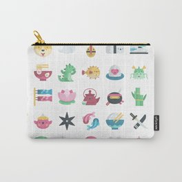 CUTE JAPANESE PATTERN Carry-All Pouch