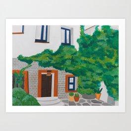 Cadaques Villa Art Print