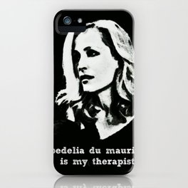 """""""bedelia du maurier is my therapist""""  iPhone Case"""