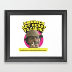 The Rhyme Impersonator Show Art Print Framed Art Print