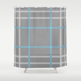 sasanach glas Shower Curtain